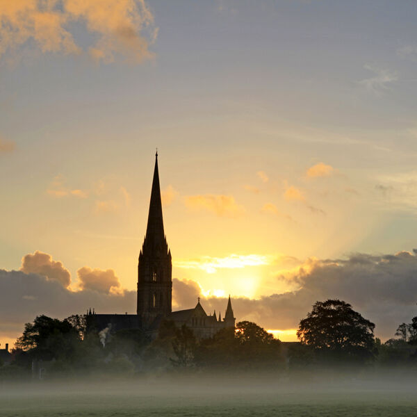 Sunrise, Salisbury Cathedral
