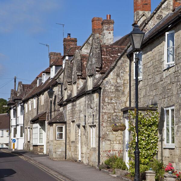 Cottages in Church Street, Tisbury