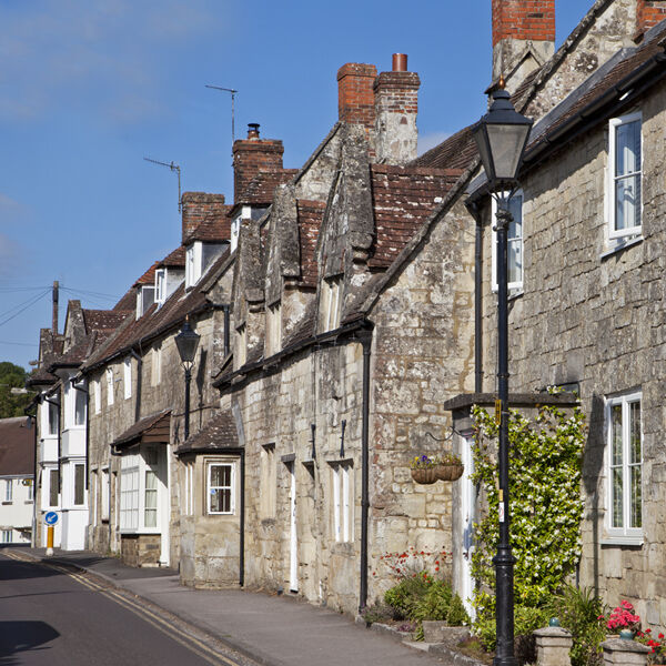 Cottages in Church Street, Tisbury