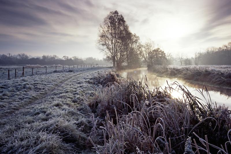 River Wylye Sunrise