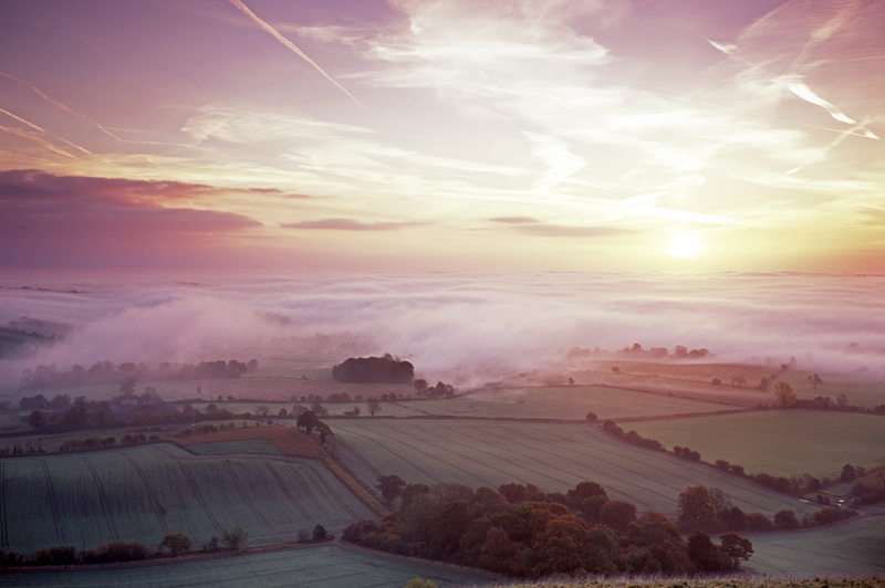 Vale of Pewsey Sunrise