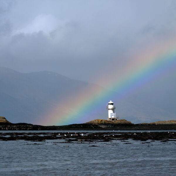 Sgeir Bhuide Lighthouse, Port Appin