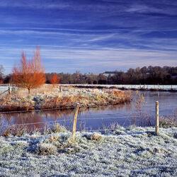 The River Wylye, Stapleford