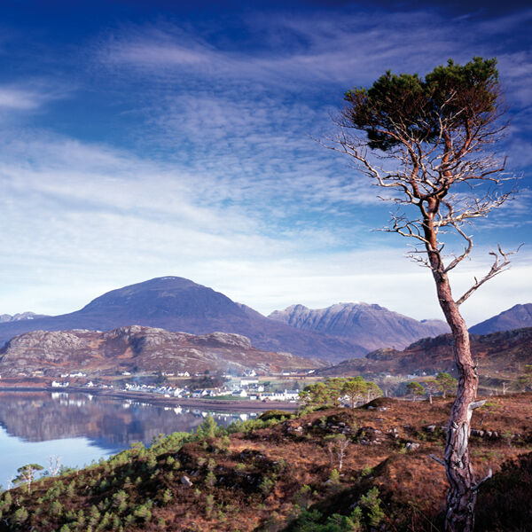 Sheildaig and the Torridon Hills