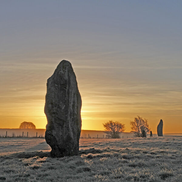 Sunrise at Avebury, Wiltshire