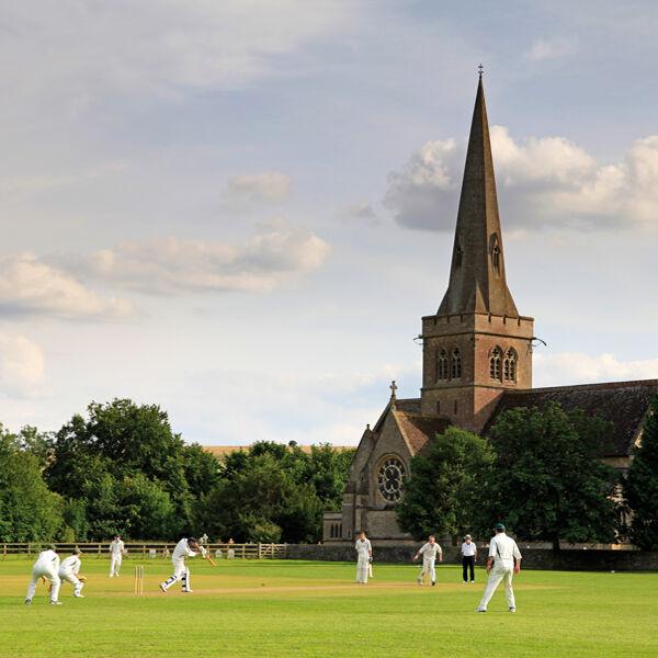 Cricket at Sutton Veny