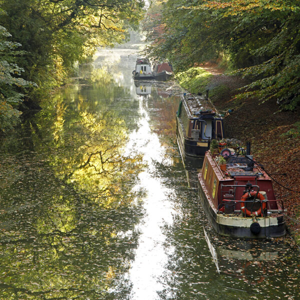 The Kennet and Avon Canal, Pewsey, Wiltshire.