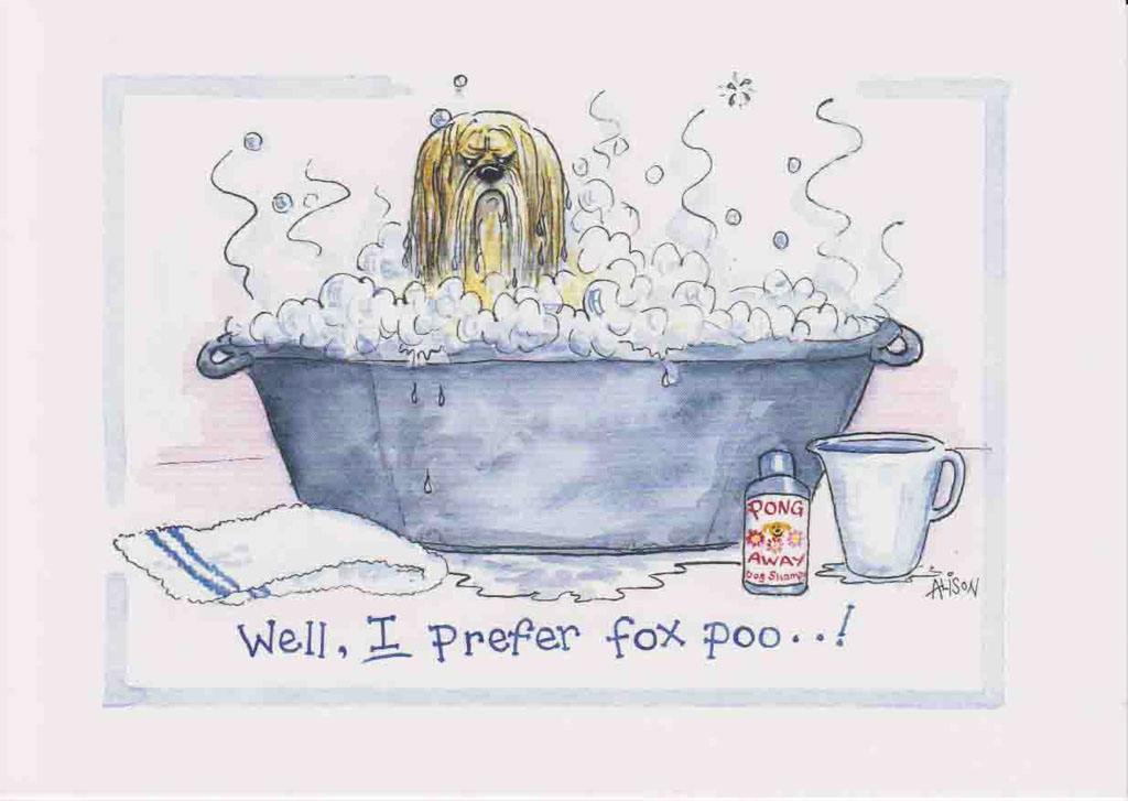 AD124 - Well, I prefer fox poo!