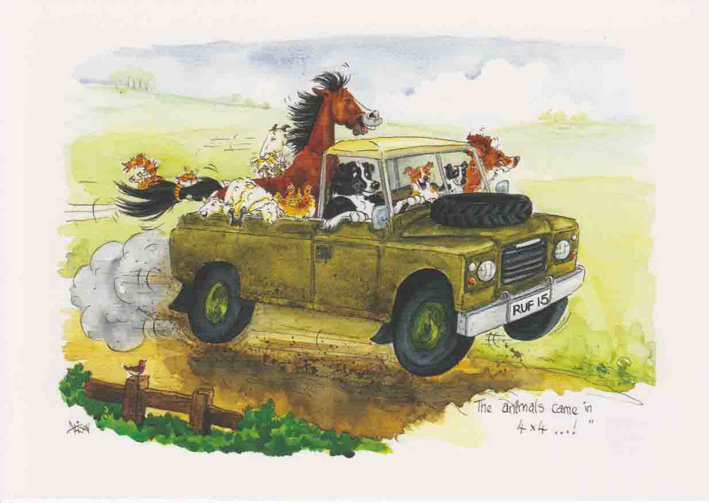 D136 - The animals came in 4x4!