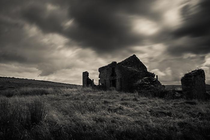 Ruined farmhouse, Edenfield.