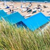 Grass Beach Hut sail boats