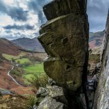 The Gap on Side Pike Lake District UK