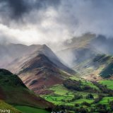 View From Cat Bells in Autumn