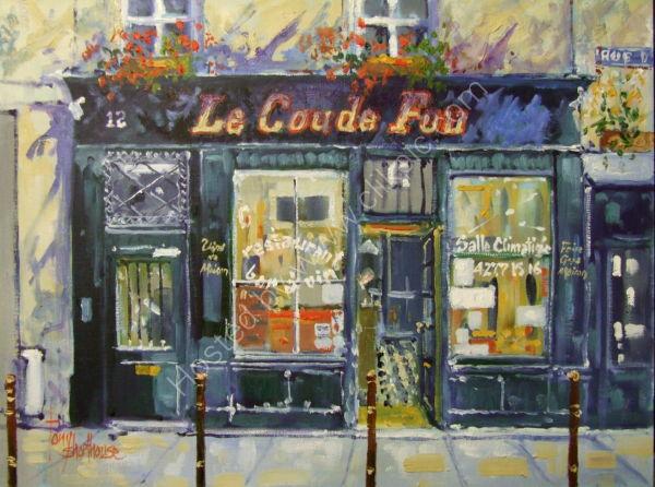 Cafe Le Coude Fou
