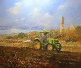 Joseph Beard Ploughing at Tresowes