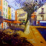 Sunny corner in Collioure
