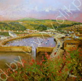Porthleven Harbour from Peverell Tce