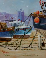 St Ives, Low Tide