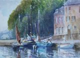 Boats at Morlaix