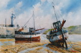 Two Boats, St Ives