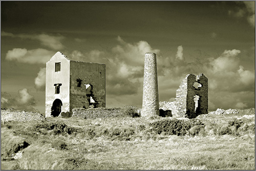 Copper Mines at Tankardstown, Co. Waterford
