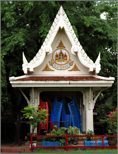 Temple in Thailand,