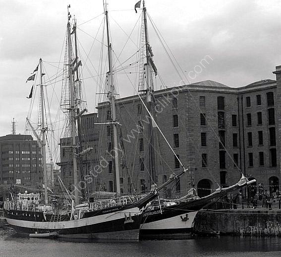 tall ships  albert dock
