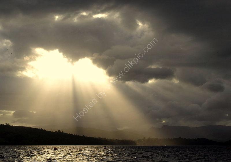light over windermere