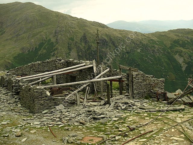 old mine building  coppermines