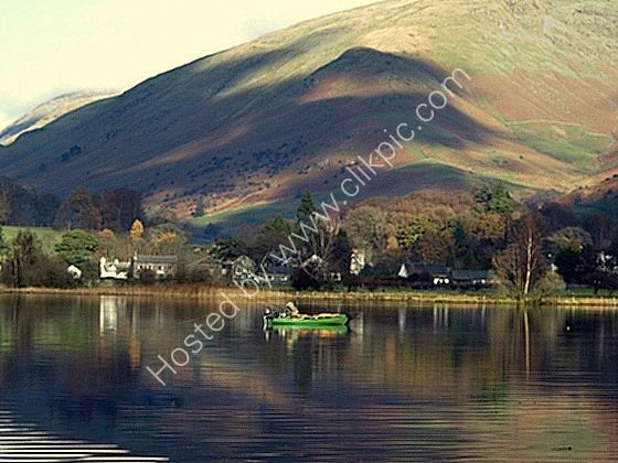 fishing on grasmere