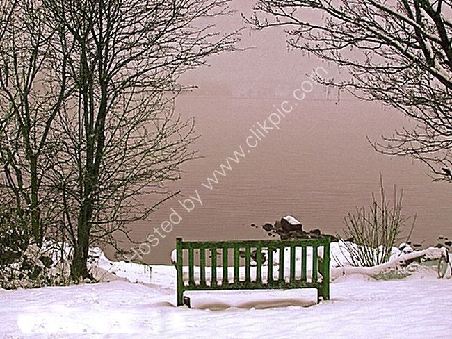 bench on windermere