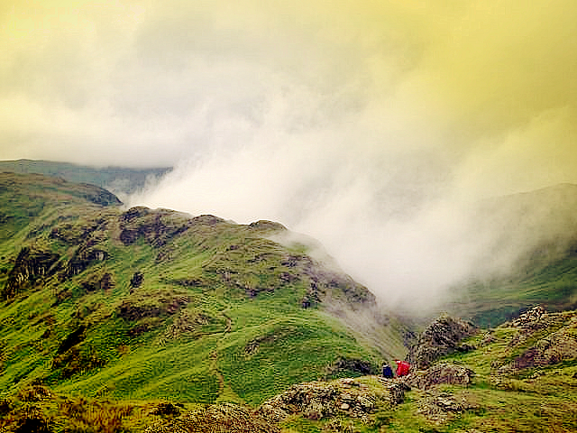 view from helm cragg