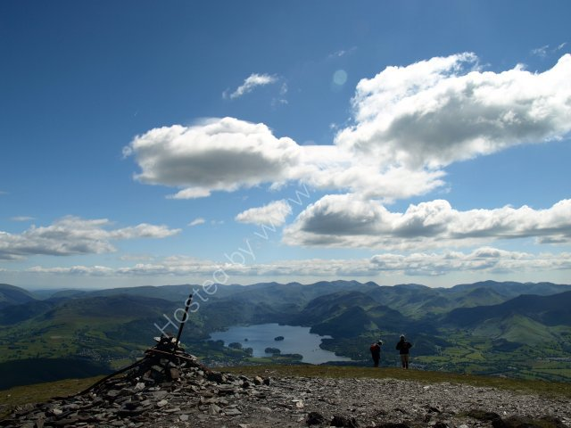 on the way to skiddaw