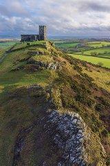 St Michael de Rupe, Brentor, Devon, England, UK