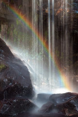 Small Fall Rainbow, Brecon Beacons, Wales