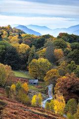 Ashness Bridge, Lake District, England, UK.