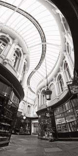 Arcade, Cardiff City, Wales.