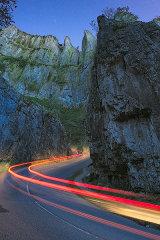 Cheddar Gorge, Mendips, England