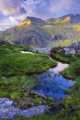 Crib Goch, Snowdonia, Wales.