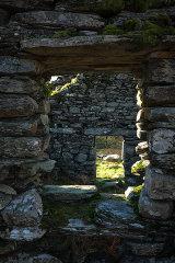 Cwm Nantcol abandoned farm, north Wales, UK