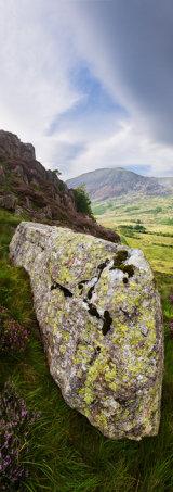 Cwm Tryfan, Snowdonia, Wales.