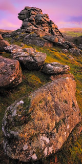 Dartmoor light, Devon, England, UK.