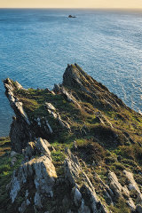 Eastern Black Rock, Dartmouth, Devon, England, UK.
