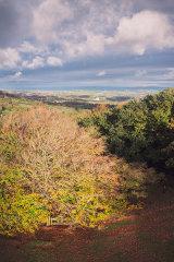 Upper Cwmbran view, Cwmbran, Wales