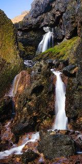 Gorge Waterfall, England.