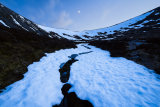 Moonrise, Coire Odhar, Cairngorms, Scotland.