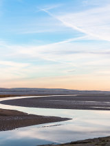 Morecambe Bay, Cumbria, England.