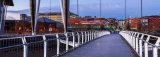 Newport Millennium Bridge, Wales.