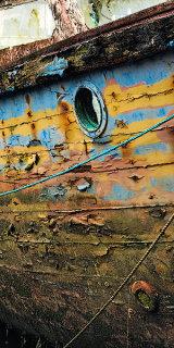 Old boat detail, Caernarfon, Wales