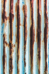 Rusted sheet, Newport City, Wales